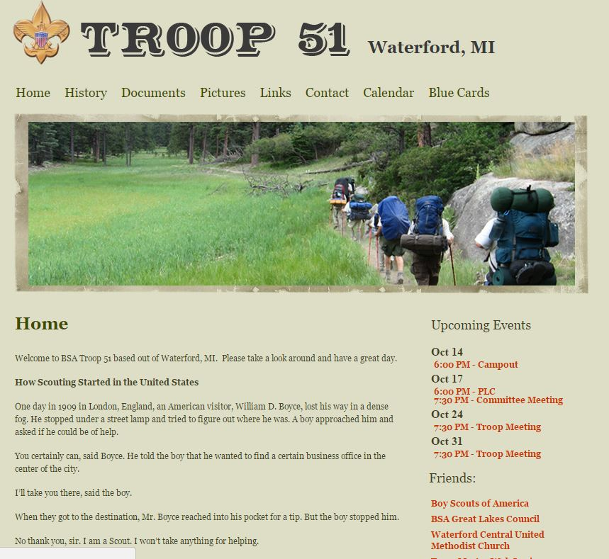 BSA Troop 51 Waterford